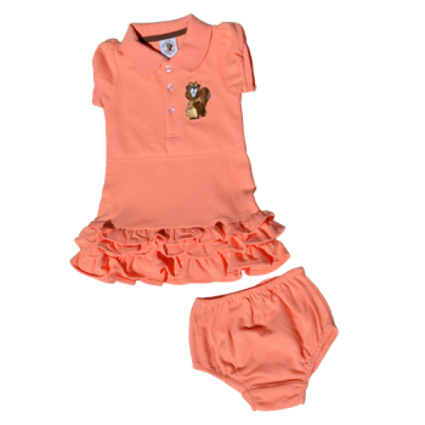 Polo Dress with knickers